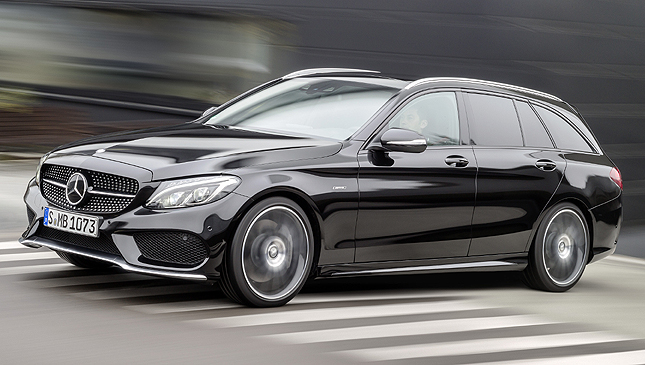 The Mercedes-Benz C450 AMG 4MATIC unveiled