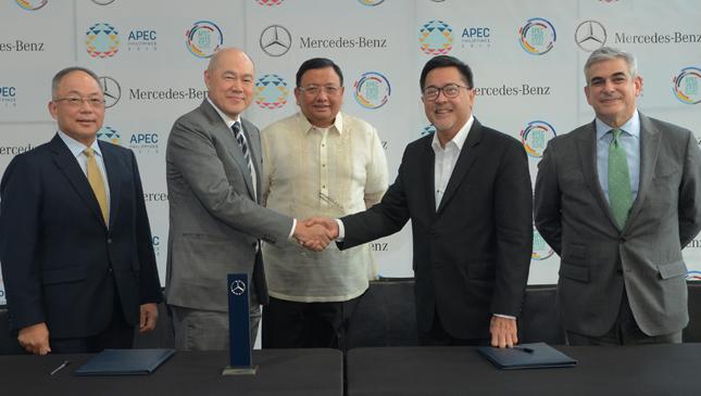 Mercedes-Benz APEC premium mobility partner