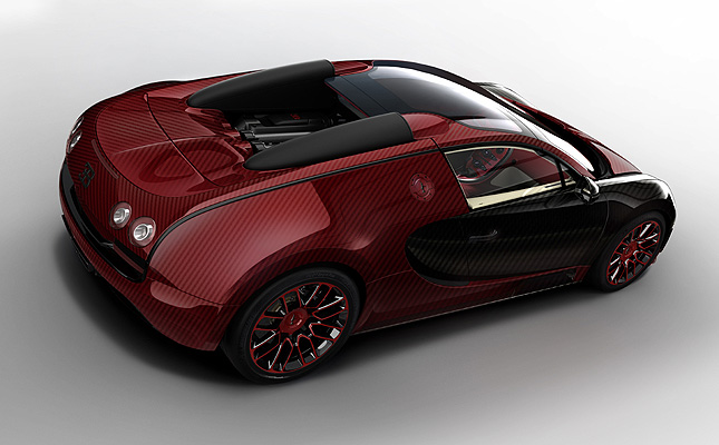 La Finale: Check out what the 450th (and last) Bugatti Veyron unit looks like