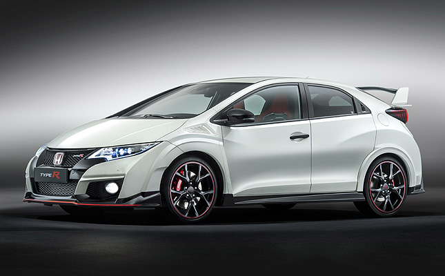 TopGear.com.ph Philippine Car News - Honda reveals Euro-market Civic Type R