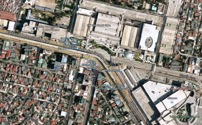 TopGear.com.ph Philippine Car News - MMDA upgrades EDSA-West and North Avenue intersections