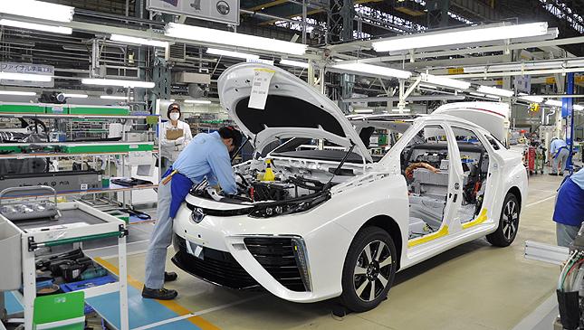 Toyota Mirai manufacturing