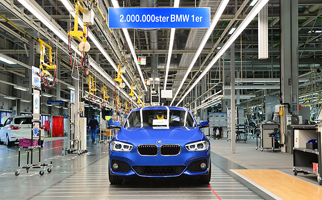 TopGear.com.ph Philippine Car News - BMW celebrates production of two-millionth 1-Series car