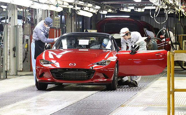 TopGear.com.ph Philippine Car News - Mazda begins production run of all-new MX-5