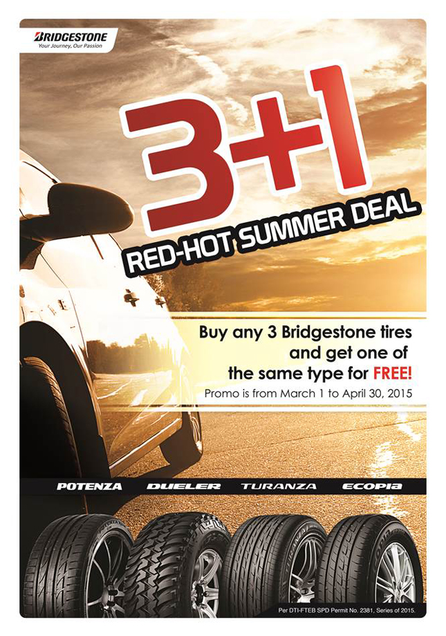 Bridgestone summer promo