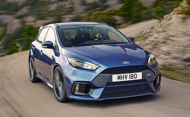 Ford Focus Rs Comes With Drift Mode For Sideways Fun