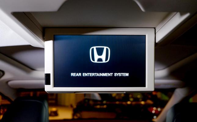 Honda Odyssey cabin