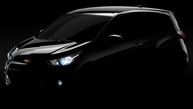 Chevrolet Spark teaser