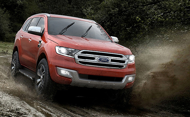 TopGear.com.ph Philippine Car News - Video: Ford demos all-new Everest's all-terrain capability