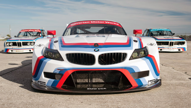 BMW milestone livery at 12 Hours of Sebring