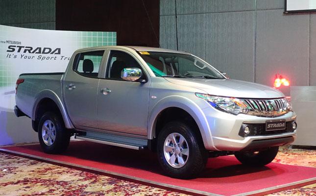 Mitsubishi Strada launch