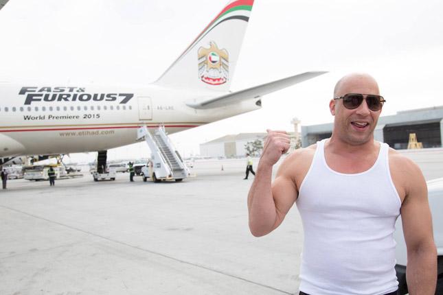 'Fast & Furious 7' star Vin Diesel