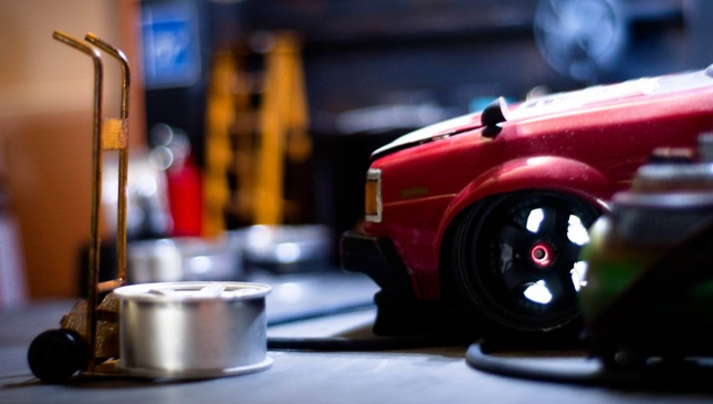 16 images: This is probably the most awe-inspiring car diorama in the world