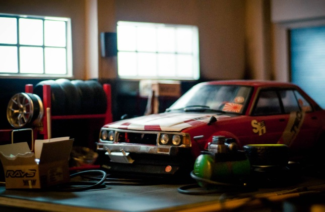 Car diorama