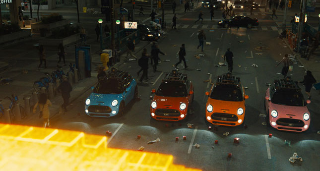 Mini in Pixels movie
