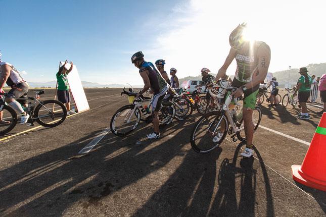 The Ford Forza Triathlon Team completes the Century Tuna Ironman 70.3