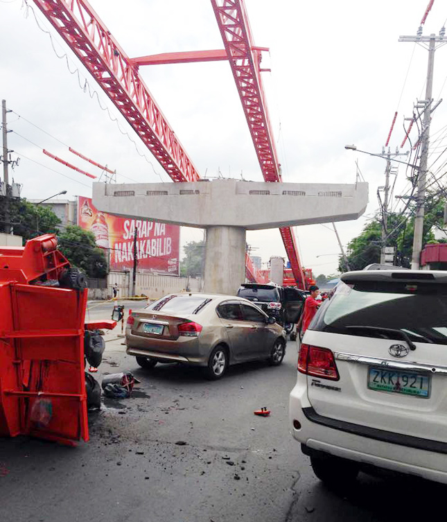 Public-works accident in Pasay City