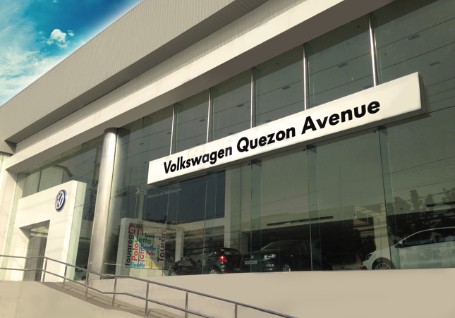 Quezon City dwellers, there's a Volkswagen dealership near you