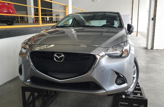 Mazda 2 sedan in the Philippines