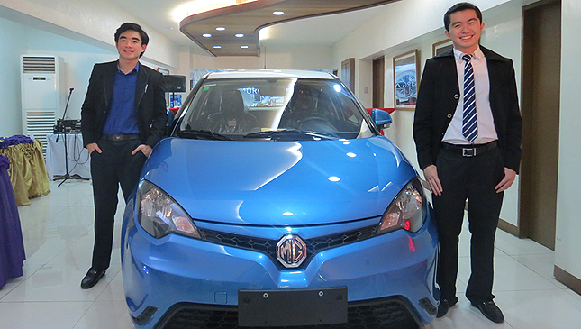 Officially official: MG is now in the Philippines, unveils three models