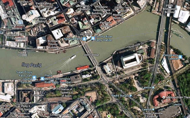 TopGear.com.ph Philippine Car News - Manila City gov't reroutes traffic from Jones Bridge