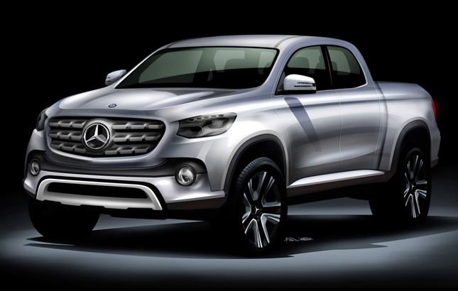 Mercedes-Benz pickup