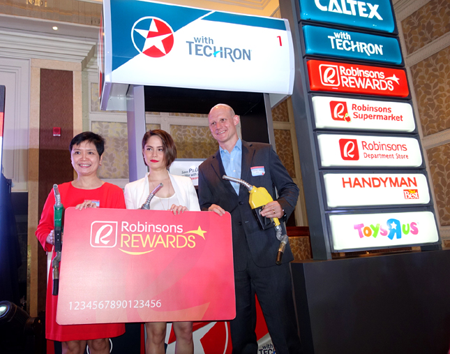 Caltex and Robinsons rewards card