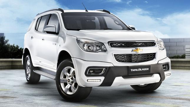 New Chevrolet Trailblazer and Colorado variants