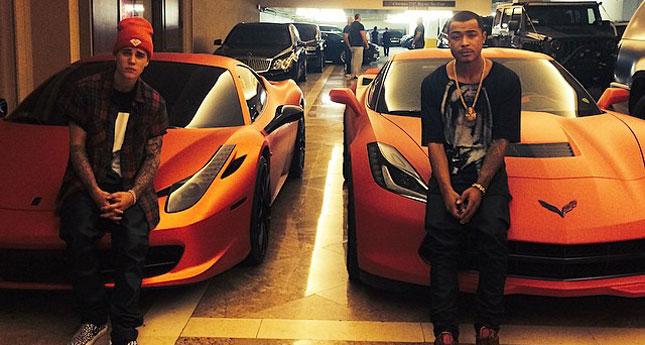 Justin Bieber - Ferrari 458