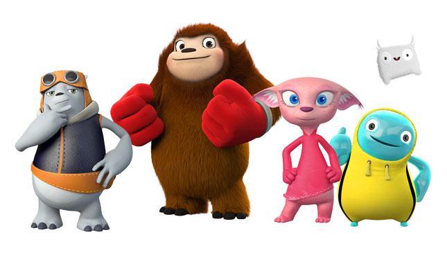 Kia introduces 5 new mascots