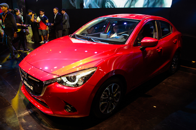 the specs, features and prices of the Mazda 2 in the Philippines.