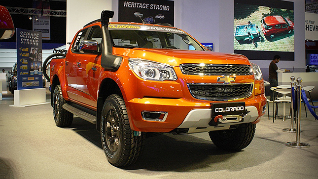 Chevrolet Colorado tracker Edition