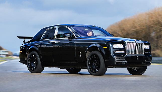 Rolls-Royce's test mule