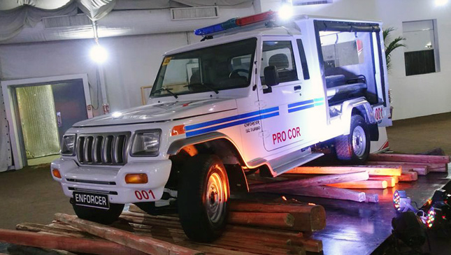 Forget about Dubai Police's supercars...our cops now have the Mahindra Enforcer