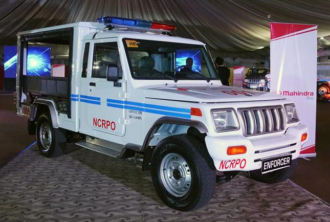 Mahindra Enforcer PNP vehicle