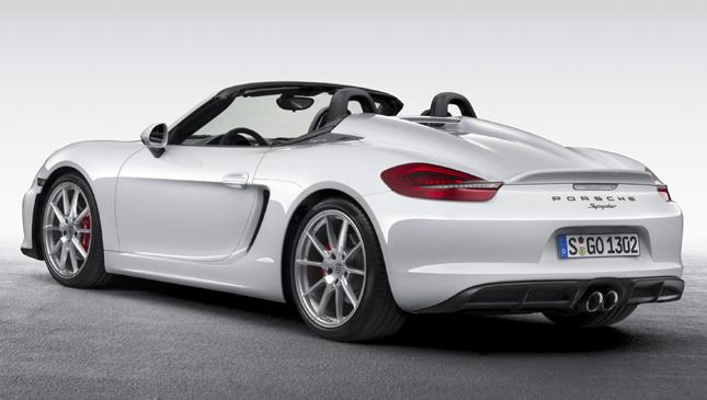 2015 Porsche Boxster Spyder
