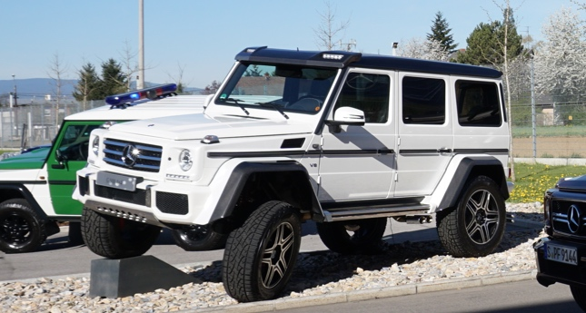 The most awesome 4x4 vehicle in the world could be headed for Mercedes benz 4x4 squared