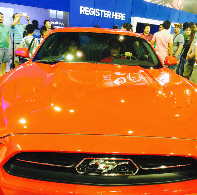 Ford Mustang party photo contest