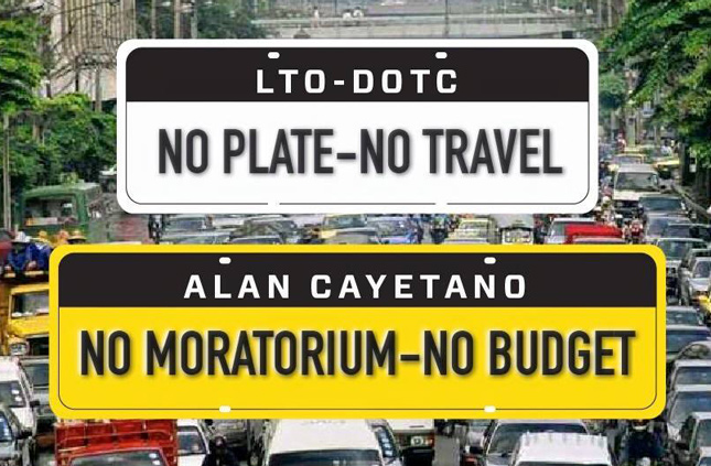Senator Alan Peter Cayetano issues threat to LTO