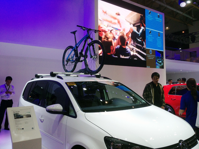 Volkswagen booth at MIAS 2015