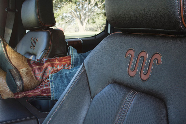 2015 Ward's 10 Best Interiors: 2015 Ford F-150 King Ranch