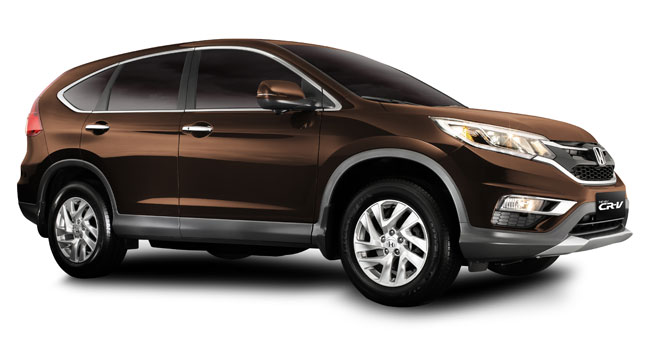 Honda CR-V Gold Brown Metallic limited edition