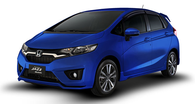 Honda Jazz Cool Blue limited edition