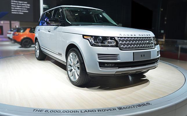 Land Rover milestones