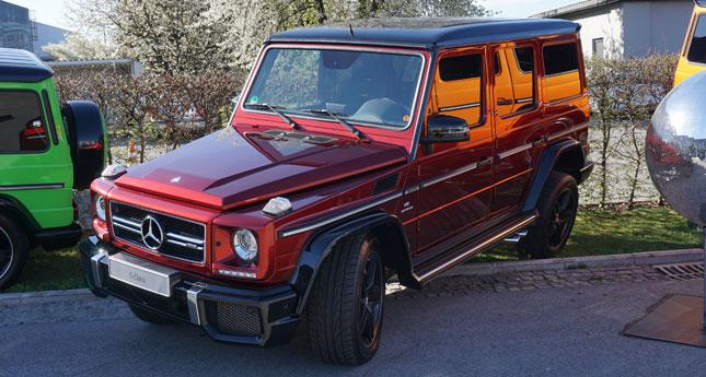Mercedes-Benz G-Class gallery