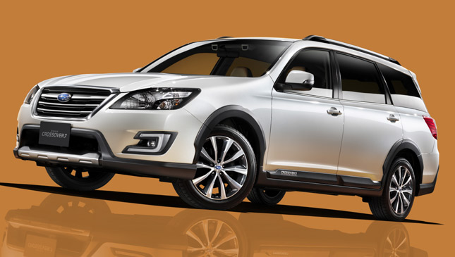 Subaru launches Exiga Crossover 7 in Japan