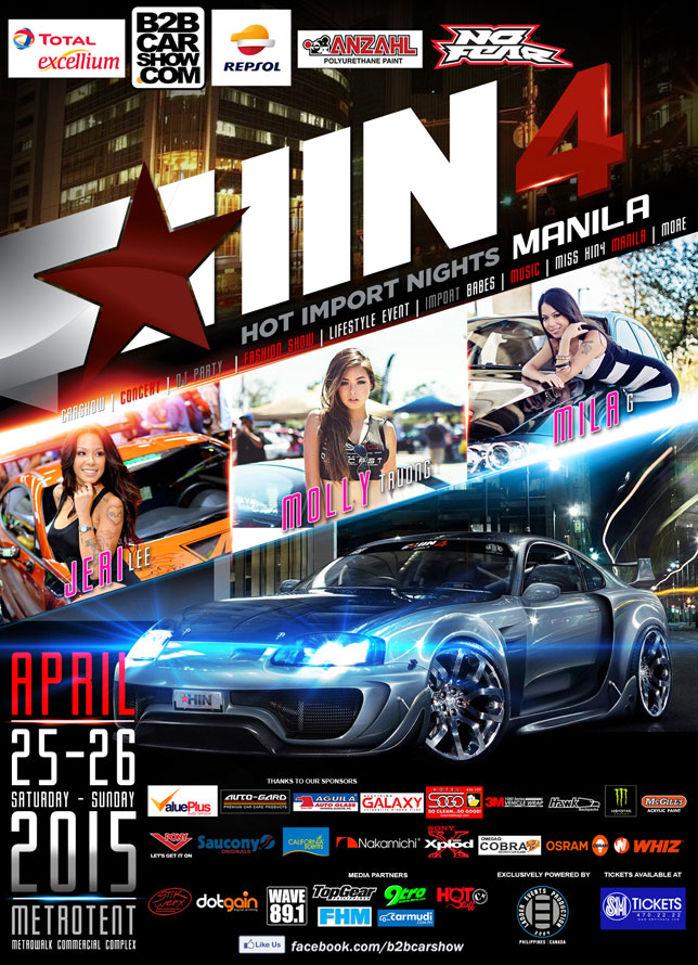 Hot Import Nights Manila
