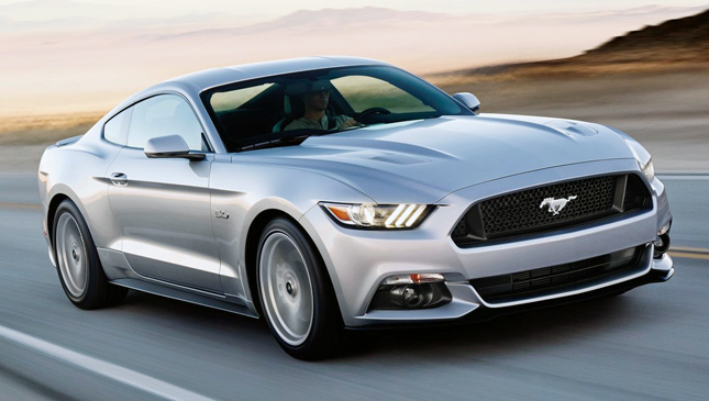 All-new Ford Mustang GT