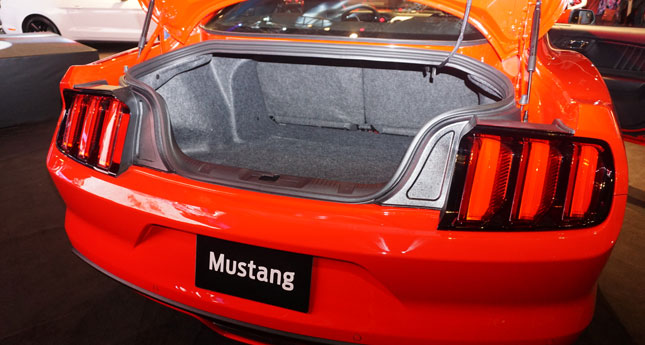 Ford Mustang launch