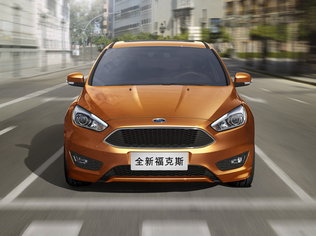 Refreshed Ford Focus makes Asian debut in Shanghai